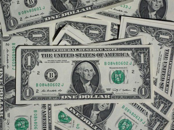 ارتداد الدولار الامريكي