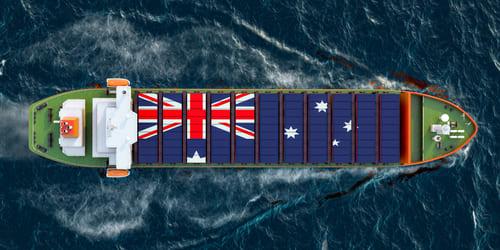 الصادرات الأسترالية في ارتفاع